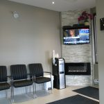 Our waiting room where you rarely wait!